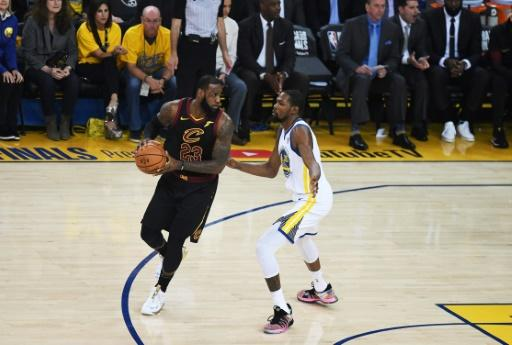 "LeBron James of the Cleveland Cavaliers said the opening game against the Golden State Warriors was ""one of the toughest losses I've had in my career"""