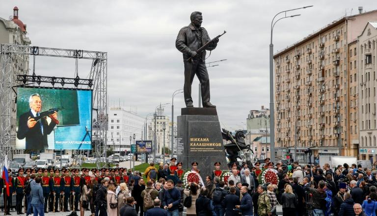 Mikhail Kalashnikov never touched the fortunes from the sales of millions of the rifles that bear his name
