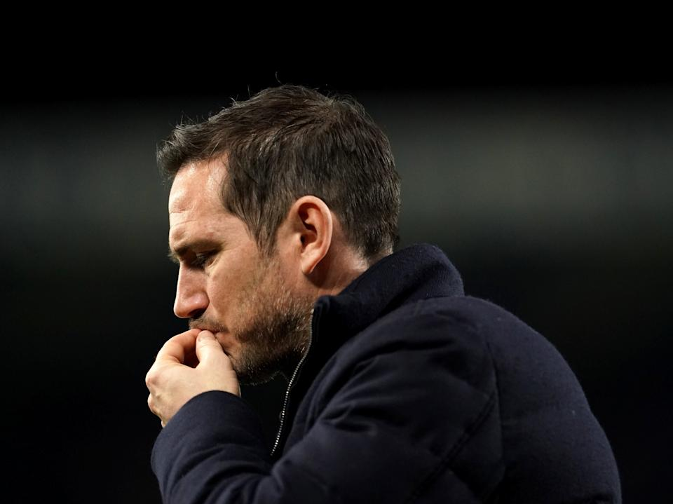 Frank Lampard is heading for the exit (PA)