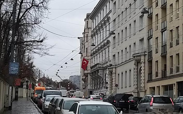 The Turkish embassy in Vienna