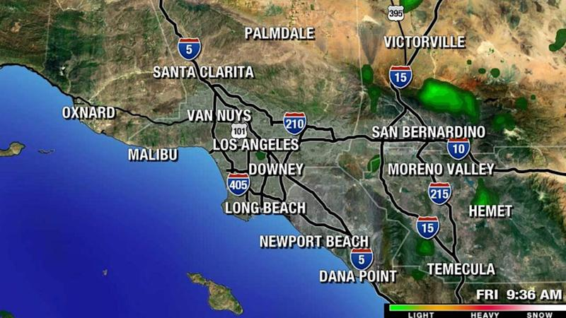 Southern California weather forecast Saturday