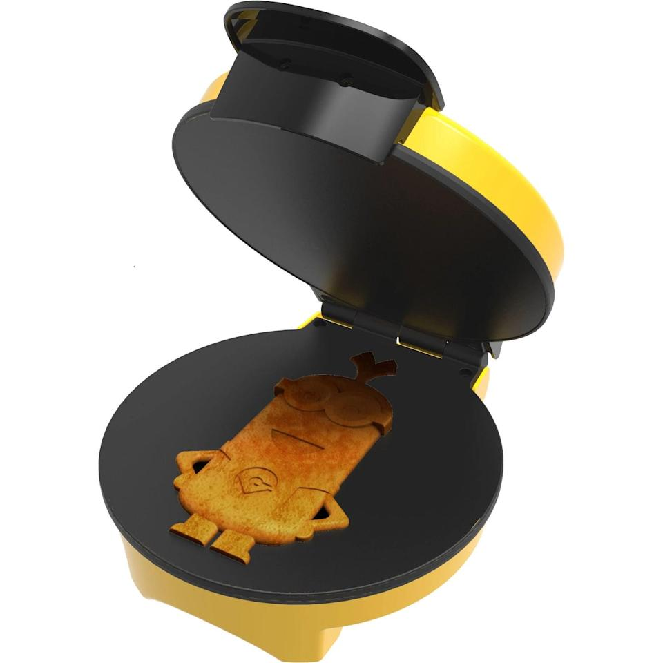 <p>If they love all things minions, the <span>Minions Kevin Waffle Maker</span> ($40) will make them smile from ear to ear every morning.</p>