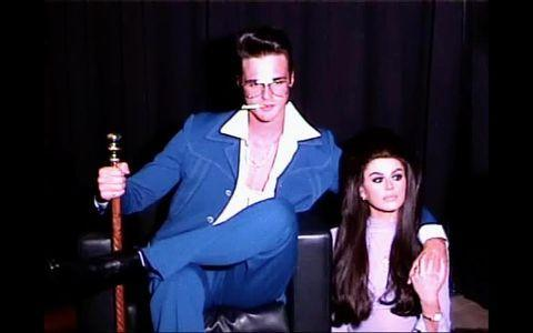 """<p>The new couple went Instagram official with a couple's Halloween costume, embodying Elvis and Pricilla Presley.</p><p><a href=""""https://www.instagram.com/p/CHEMi4-Fb0a/"""" rel=""""nofollow noopener"""" target=""""_blank"""" data-ylk=""""slk:See the original post on Instagram"""" class=""""link rapid-noclick-resp"""">See the original post on Instagram</a></p>"""