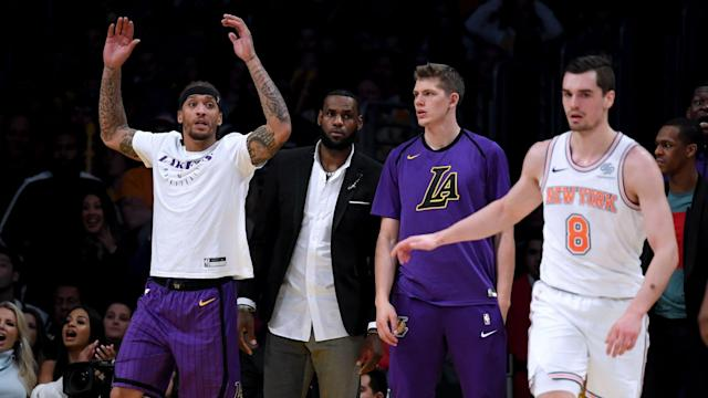 Luke Walton acknowledged his young Los Angeles Lakers side has a tendency to fall apart without LeBron James and Rajon Rondo.