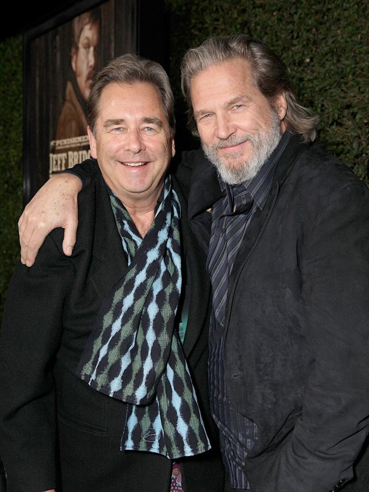 "<a href=""http://movies.yahoo.com/movie/contributor/1800051528"">Beau Bridges</a> and <a href=""http://movies.yahoo.com/movie/contributor/1800011634"">Jeff Bridges</a> attend the Los Angeles screening of <a href=""http://movies.yahoo.com/movie/1810153253/info"">True Grit</a> on December 9, 2010."