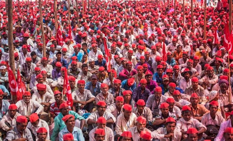 According to bank officials in Nanded, the Maharashtra government succumbed to pressure after the farm protests. But the waiver, in fact, worsened the agrarian credit crisis, they said. Getty Images