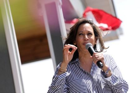 Democratic U.S. presidential hopeful Kamala Harris unveils plan to tackle rape kit backlog