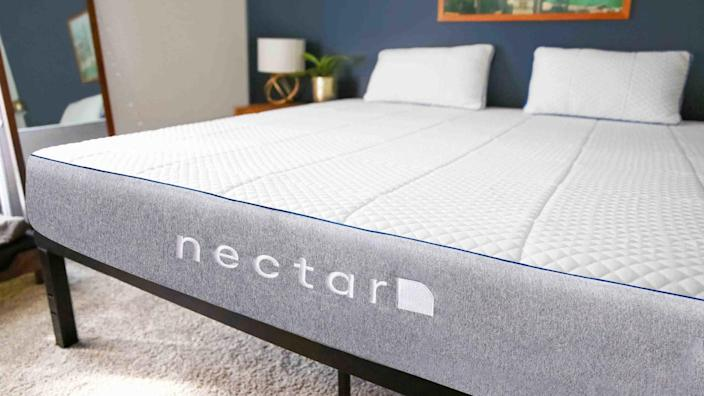 Make your bed a little bit more cozy this fall and winter with a brand new mattress from Nectar.