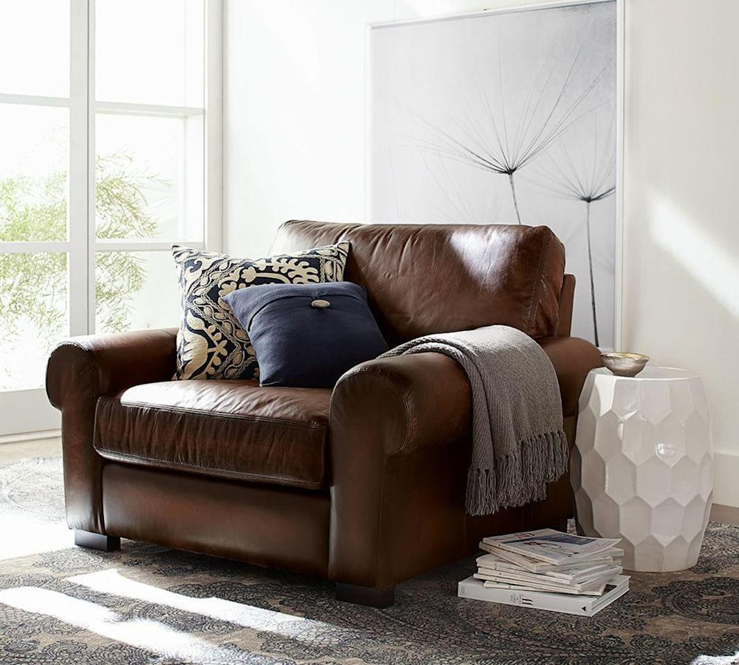 "<p>Being comfy and cozy is essential to some quality reading time. If you don't have one already, consider adding a cozy armchair, recliner or chaise lounge to your registry to complete your ideal reading nook. Pottery Barn's <a rel=""nofollow"" href=""http://www.potterybarn.com/products/turner-leather-roll-arm-armchair-collection?mbid=synd_yahoolife"">Turner Roll Arm Leather Arm Chair</a> ($1,048.99 – $1,799) practically begs you to curl up on it with your favorite novel, and it's classic style made with quality leather makes it even more tempting. For a softer yet regal aesthetic, Target's <a rel=""nofollow"" href=""http://www.target.com/p/custom-upholstered-tufted-chaise-skyline-furniture/-/A-15193655?mbid=synd_yahoolife"">Custom Upholstered Tufted Chaise</a> ($468) is available in twelve colors and provides a great lounging spot without taking up too much space.</p>"