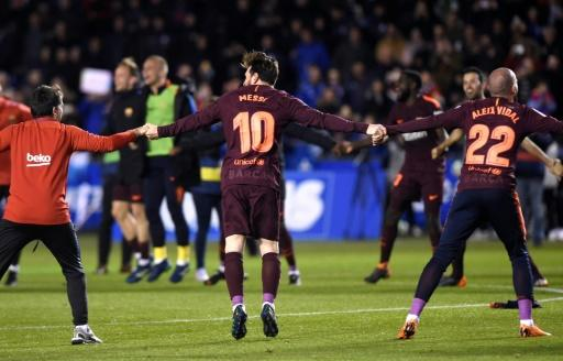 Barcelona won their 25th league title and seventh in 10 seasons