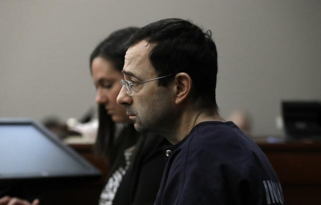Larry Nassar was investigated in 2014 by MSU's Title IX office, but the conclusions were hidden from the victim. (AP Photo)