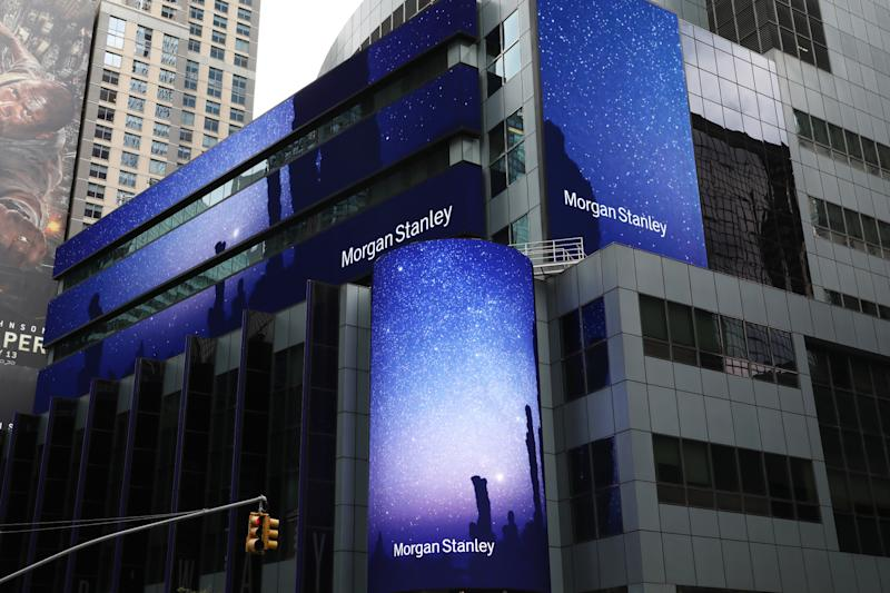 Morgan Stanley Wealth Management Numbers Sag