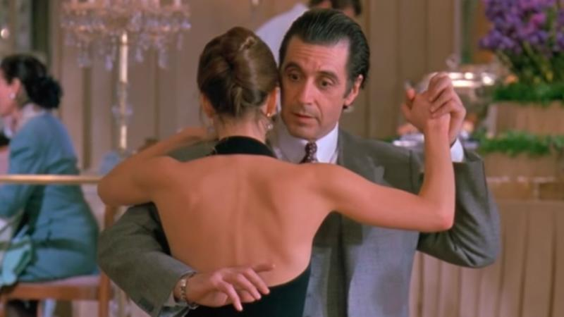 Al Pacino in Scent of a Woman.