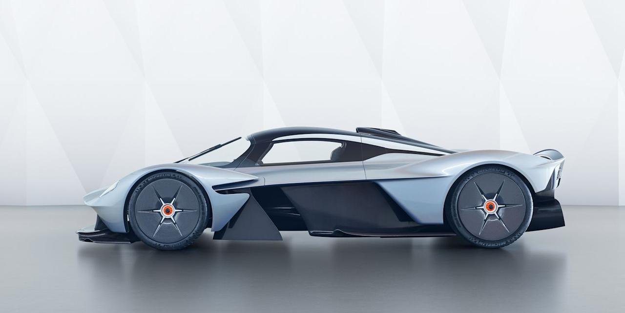 <p>There are plenty of great names worth using from Nordic mythology, but choosing Valkyrie as the title for its 1100-plus horsepower hypercar was one of Aston's best decisions. </p>