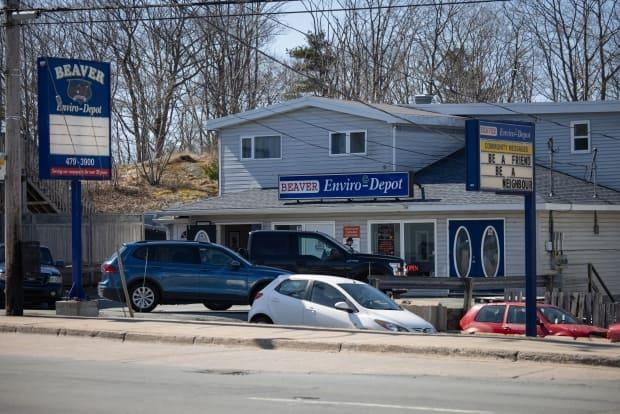 A sexual harassment complaint was filed against this recycling depot business. The owner of the company denies the allegations, which have not been tested in court.
