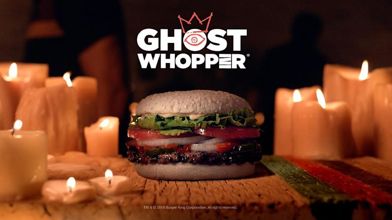 Burger King's new 'Ghost Whopper' was taste tested by paranormal entities
