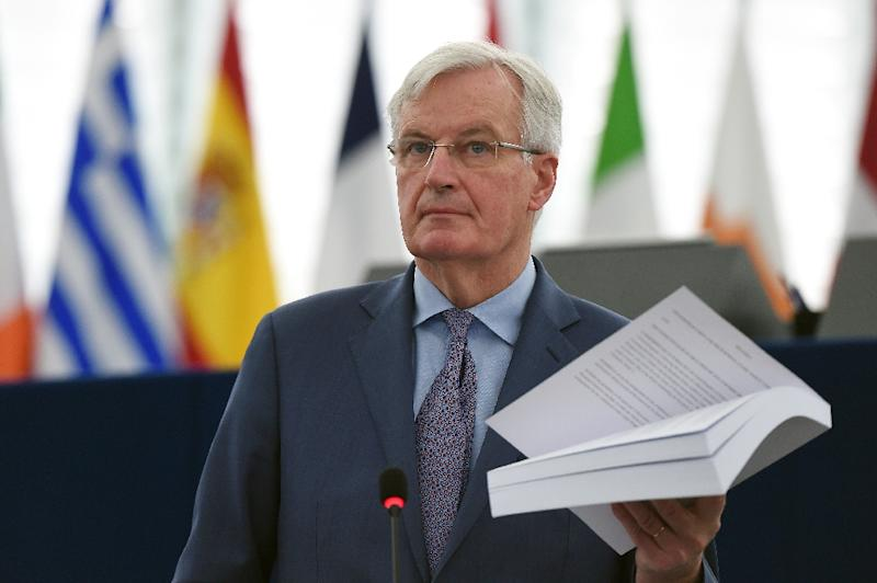Chief EU Brexit negotiator Michel Barnier said the bloc will not rework the withdrawal agreement