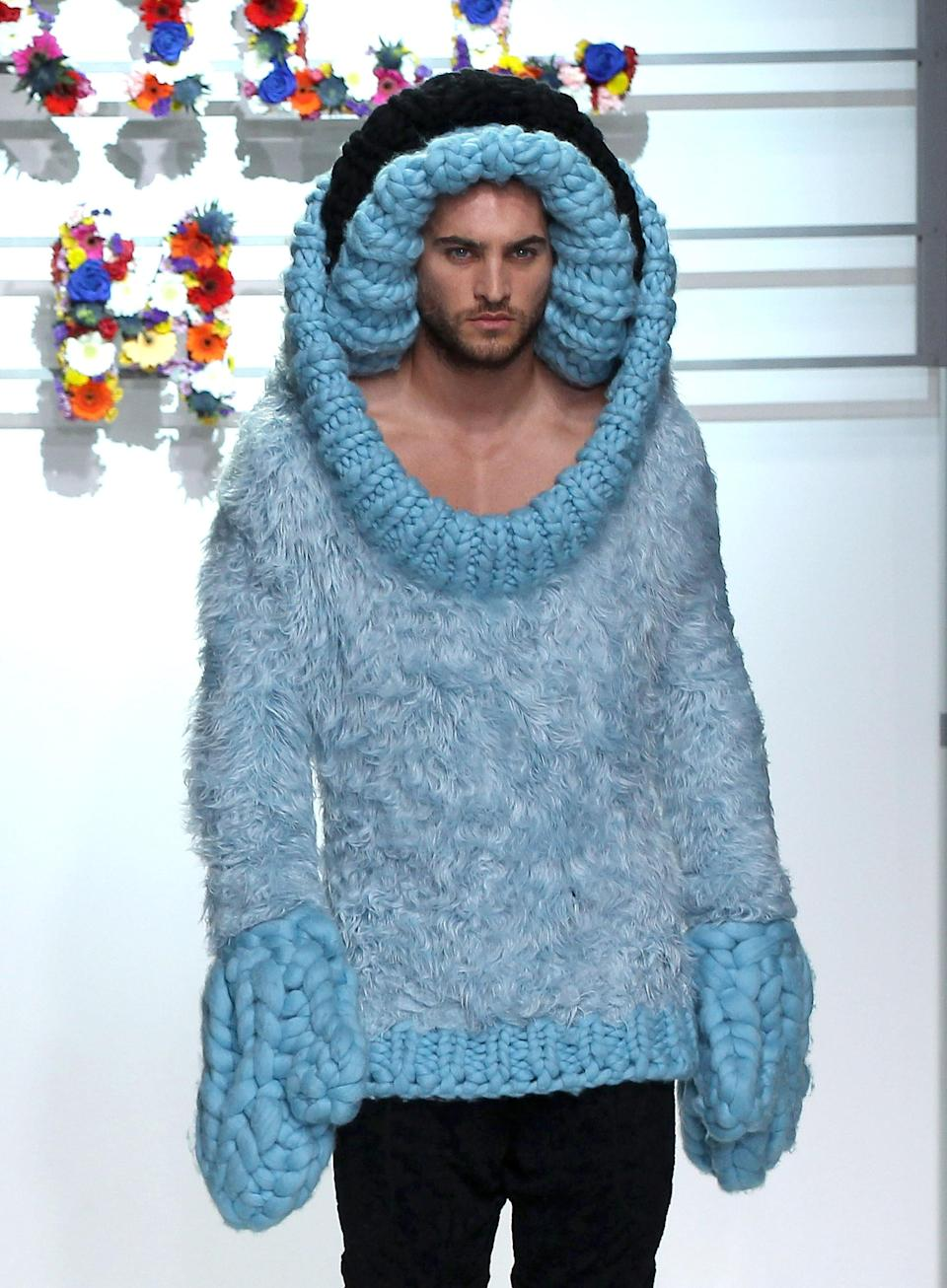 """<div class=""""caption-credit""""> Photo by: Danny Martindale/WireImage</div>At Sibling, the models were so, so cold. <br>"""