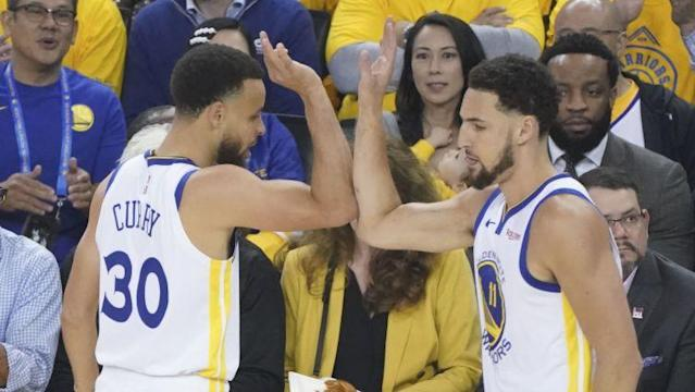 From the Warriors' strong start, to the Pelicans' lottery win, to a first look at the Eastern Conference Finals, A. Sherrod Blakely has your daily roundup of all the NBA playoff action.