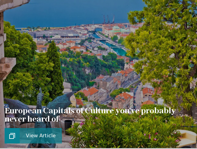 European Capitals of Culture you've probably never heard of