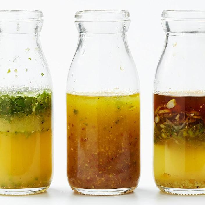 <p>A healthy, tasty homemade salad dressing is as simple as shaking a few ingredients in a jar.</p>