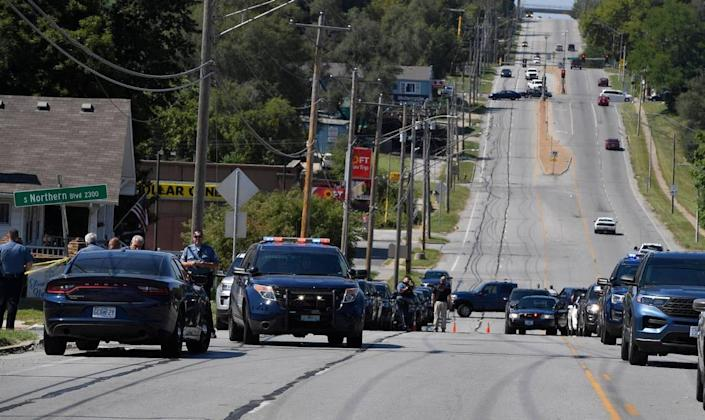Police officers were on the scene of an officer involved shooting Wednesday afternoon near 78 Highway and South Northern Blvd. in Independence.