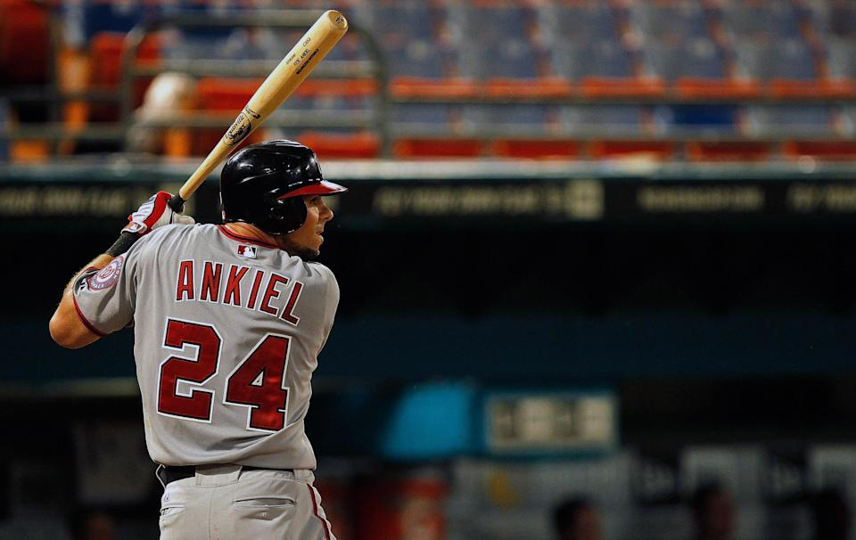 Rick Ankiel was a starting pitcher and designated hitter for the Johnson City Cardinals in 2001. (Getty Images)
