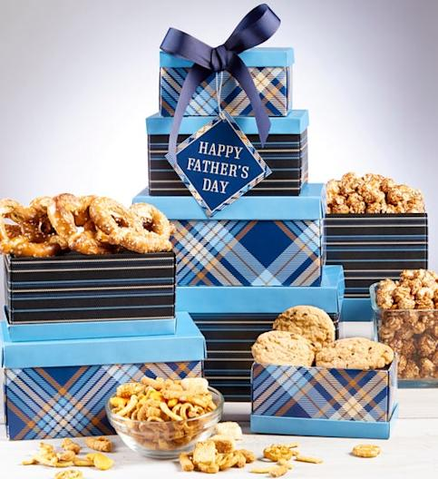 1800Baskets Happy Father's Day Treats Tower