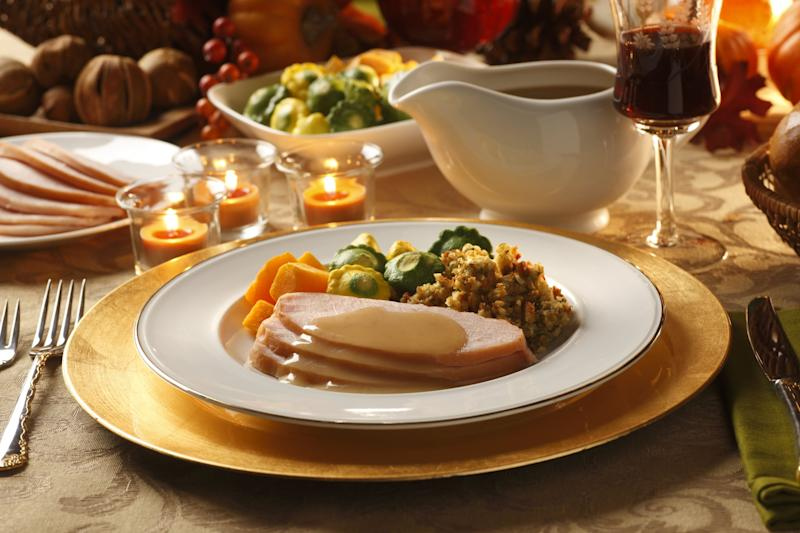 A traditional Thanksgiving turkey dinner.To see more of my Thanksgiving images click on link below: