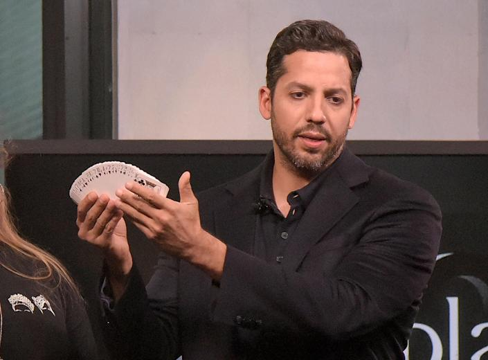 David Blaine shot himself in the throat, and it sounds completely terrifying