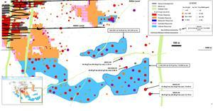 Figure 2: Island Gold Mine East Area – Surface Directional Drilling Results