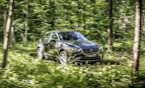"""<p>Back in <a href=""""https://www.caranddriver.com/reviews/comparison-test/a15106286/small-suvs-compared-mazda-cx-3-vs-fiat-500x-honda-hr-v-jeep-renegade-chevrolet-trax-kia-soul-comparison-test/"""" rel=""""nofollow noopener"""" target=""""_blank"""" data-ylk=""""slk:2015 we fit six all-wheel-drive subcompact crossovers"""" class=""""link rapid-noclick-resp"""">2015 we fit six all-wheel-drive subcompact crossovers</a> into a former staffer's backyard because they were toylike and well, his backyard was a big playground. The <a href=""""https://www.caranddriver.com/mazda/cx-3"""" rel=""""nofollow noopener"""" target=""""_blank"""" data-ylk=""""slk:Mazda CX-3"""" class=""""link rapid-noclick-resp"""">Mazda CX-3</a> won big in that snack-size comparison test. It beat the <a href=""""https://www.caranddriver.com/jeep/renegade"""" rel=""""nofollow noopener"""" target=""""_blank"""" data-ylk=""""slk:Jeep Renegade"""" class=""""link rapid-noclick-resp"""">Jeep Renegade</a>, <a href=""""https://www.caranddriver.com/honda/hr-v-2021"""" rel=""""nofollow noopener"""" target=""""_blank"""" data-ylk=""""slk:Honda HR-V"""" class=""""link rapid-noclick-resp"""">Honda HR-V</a>, <a href=""""https://www.caranddriver.com/kia/soul"""" rel=""""nofollow noopener"""" target=""""_blank"""" data-ylk=""""slk:Kia Soul"""" class=""""link rapid-noclick-resp"""">Kia Soul</a>, <a href=""""https://www.caranddriver.com/fiat/500x"""" rel=""""nofollow noopener"""" target=""""_blank"""" data-ylk=""""slk:Fiat 500X"""" class=""""link rapid-noclick-resp"""">Fiat 500X</a>, and the <a href=""""https://www.caranddriver.com/chevrolet/trax"""" rel=""""nofollow noopener"""" target=""""_blank"""" data-ylk=""""slk:Chevrolet Trax"""" class=""""link rapid-noclick-resp"""">Chevrolet Trax</a>. Unfortunately, in 2022, the CX-3 is the loser. Even in a package with less cargo space than its smallest sedan and hatchback, Mazda's suspension tuning was optimised for low body roll without turning the ride into a pogo stick. Its biggest fault was that there wasn't more of it, but that's been solved by the larger <a href=""""https://www.caranddriver.com/mazda/cx-30"""" rel=""""nofollow noopener"""" target=""""_blank"""" data-ylk=""""slk:CX-30"""" class="""