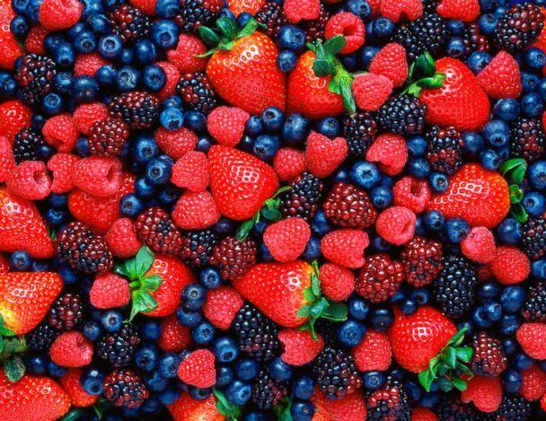 PHOTO: Mixed berries are pictured in this undated stock photo. (STOCK PHOTO/Getty Images)