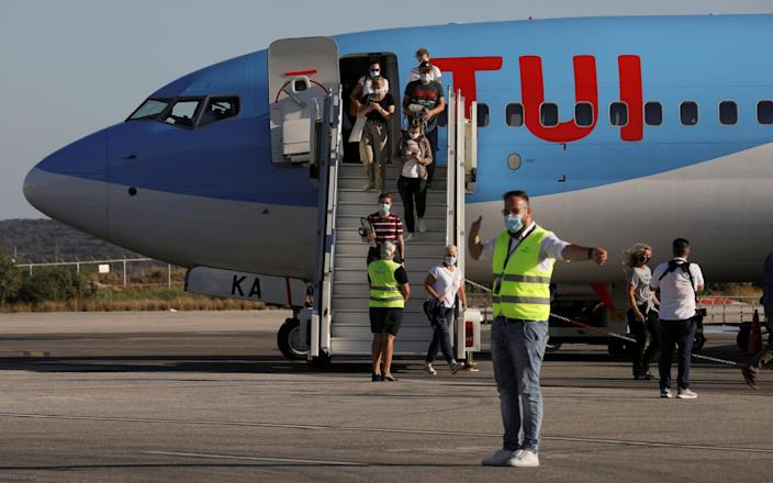 Analysts say summer cancellations could be painful as Tui's net debt now stands at €7.2bn - Alkis Konstantinidis/Reuters