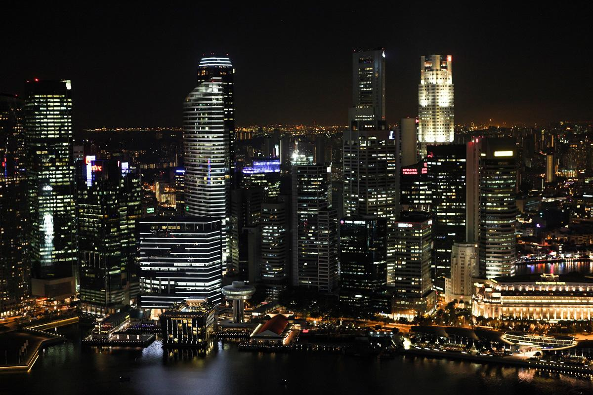 <p>The island city-state off southern Malaysia is home to 5.4million people. </p>