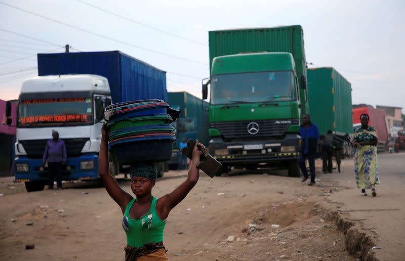 Uganda restricts truckers on busy trade route to curb coronavirus