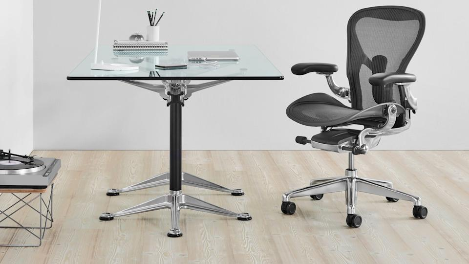 We love Herman Miller—and right now, you can get a few of their best office chairs for sale.