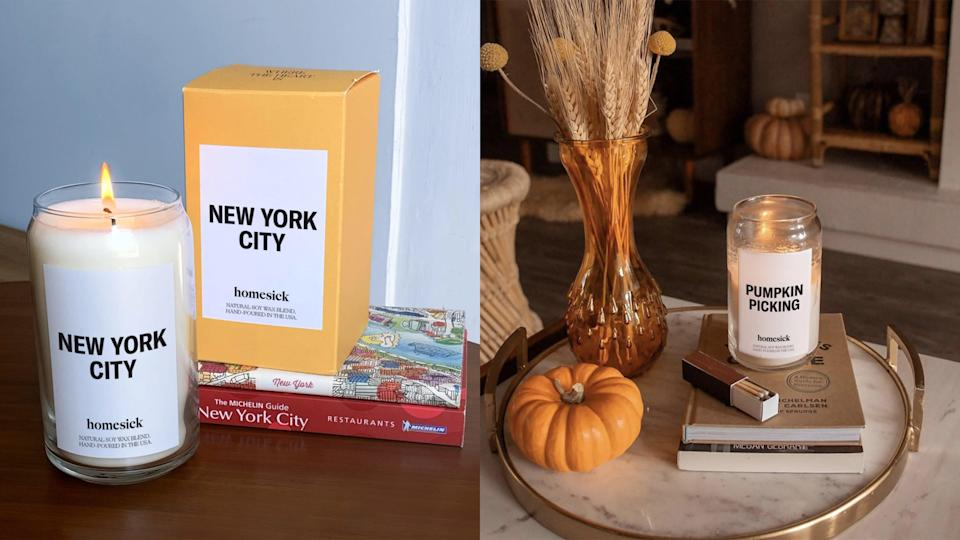 Best gifts for grandma: Homesick candles