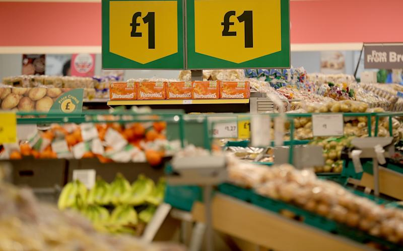 After a spell of falling prices, shoppers are cutting back in the face of renewed inflation - 2017 Getty Images