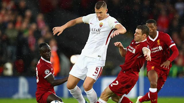 A pair of late goals at Anfield have given Roma hope against Liverpool, sporting director Monchi said.