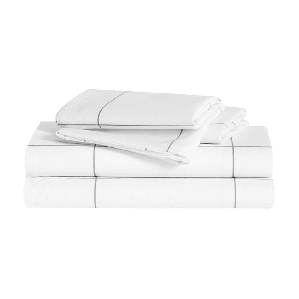 """<p><strong>Brooklinen</strong></p><p>brooklinen.com</p><p><strong>$135.15</strong></p><p><a href=""""https://go.redirectingat.com?id=74968X1596630&url=https%3A%2F%2Fwww.brooklinen.com%2Fproducts%2Fluxe-core-sheet-set%3Fvariant%3D24301281286&sref=https%3A%2F%2Fwww.bestproducts.com%2Flifestyle%2Fg3395%2Fbest-gifts-to-buy-for-yourself%2F"""" rel=""""nofollow noopener"""" target=""""_blank"""" data-ylk=""""slk:Shop Now"""" class=""""link rapid-noclick-resp"""">Shop Now</a></p><p>""""Treating yourself to a spa day is great and all, but the occasional pampering only goes so far. This Brooklinen bedding set wraps you in next-level luxury every single night, so you can sleep snugly and wake up feeling totally refreshed. Just slip a set over your mattress, and you'll see what I'm talking about. </p><p>""""Its uber-buttery 480-thread count is so cozy, it'll help you drift off to sleep sooner, and because you won't consistently wake up feeling warm through the night, you'll snooze even more soundly. What's a better gift than that?"""" <em>— Zarah Kavarana, associate editor</em></p>"""