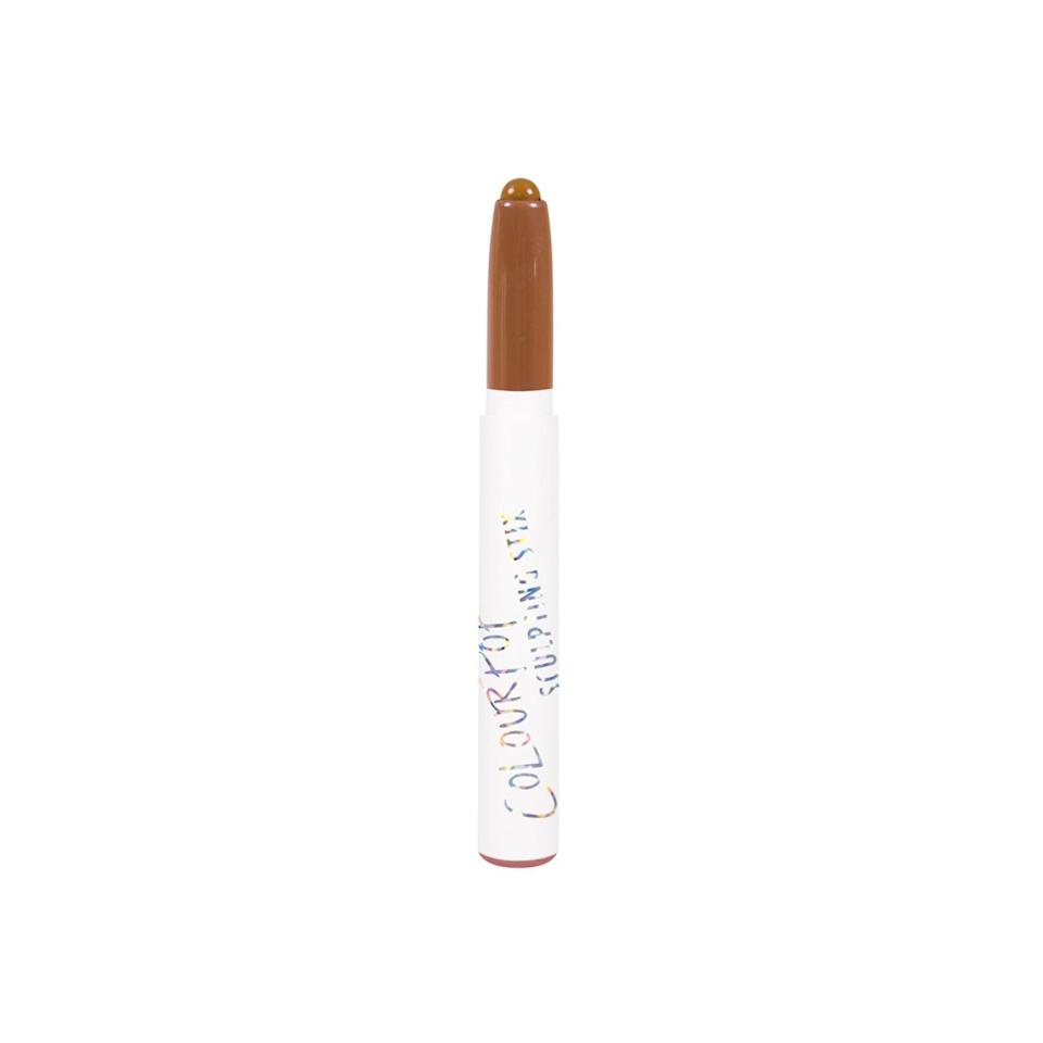"""<p><strong>ColourPop Sculpting Stix</strong></p> <p>Picking the right shades for your skin tone is the hardest part with the Sculpting Stix, especially if you want a trio. Once you make your selections, dabbing on the color with the twist-up crayons' precise tips is simple.</p> <p>$5 each (<a href=""""https://colourpop.com/collections/sculpting-stix?mbid=synd_yahoobeauty"""" rel=""""nofollow noopener"""" target=""""_blank"""" data-ylk=""""slk:colourpop.com"""" class=""""link rapid-noclick-resp"""">colourpop.com</a>).</p>"""