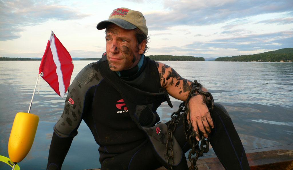 """Host <a href=""""/mike-rowe/contributor/1127886"""">Mike Rowe</a>  in Buoy Repair Man episode of <a href=""""/dirty-jobs/show/36310"""">Dirty Jobs</a>."""