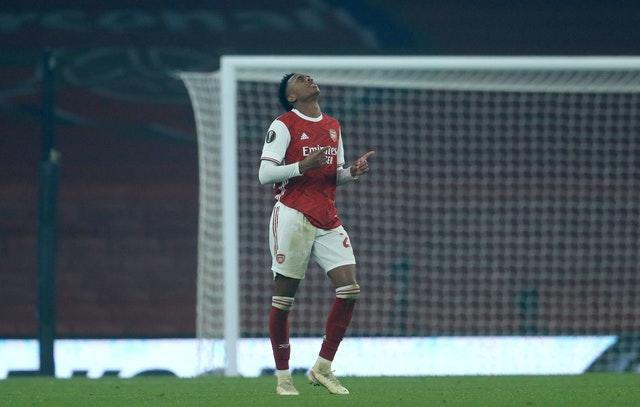 Joe Willock capped a fine performance against Molde with a goal