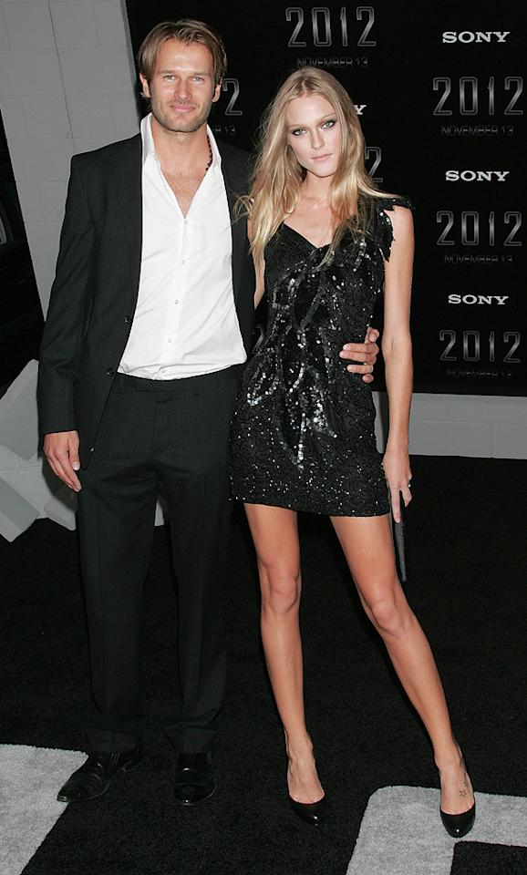 """<a href=""""http://movies.yahoo.com/movie/contributor/1809666632"""">Johann Urb</a> and Eric Axtell at the Los Angeles premiere of <a href=""""http://movies.yahoo.com/movie/1810045661/info"""">2012</a> - 11/03/2009"""
