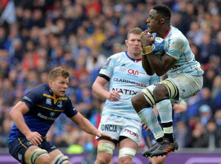 Rugby Union - European Champions Cup Final - Leinster Rugby v Racing 92 - San Mames, Bilbao, Spain - May 12, 2018 Racing 92's Yannick Nyanga in action REUTERS/Vincent West