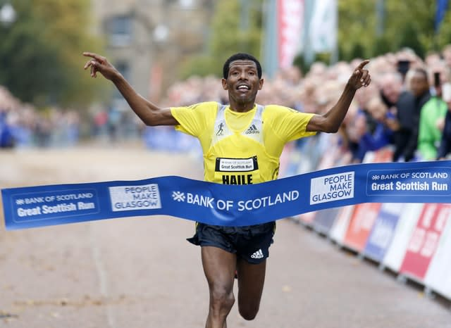 Ethiopia's Haile Gebrselassie is in a row with Sir Mo Farah. (Jeff Holmes/PA)