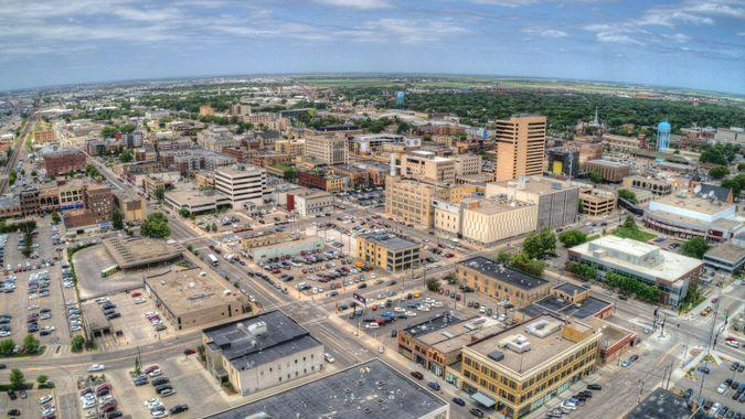 Fargo is a the largest City in North Dakota on the Red River.