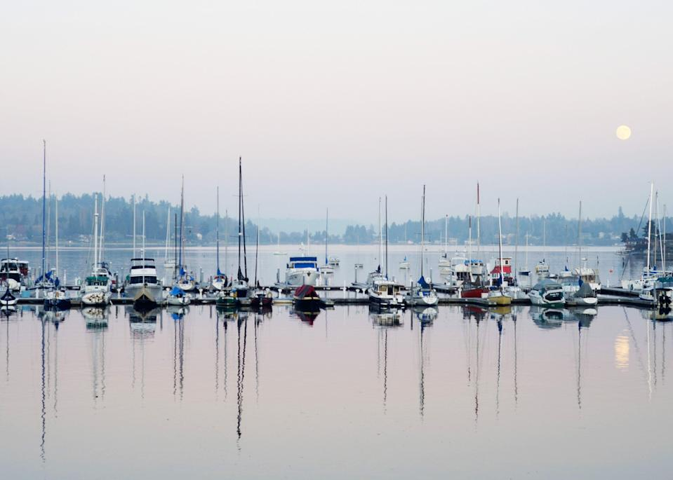 """Washington's rustic Vashon Island makes for an easy day trip—or overnighter—from <a href=""""https://www.cntraveler.com/destinations/seattle?mbid=synd_yahoo_rss"""" rel=""""nofollow noopener"""" target=""""_blank"""" data-ylk=""""slk:Seattle"""" class=""""link rapid-noclick-resp"""">Seattle</a>. The island is perhaps best known as the longtime home of <a href=""""https://www.cntraveler.com/story/a-book-worm-pilgrimage-to-washingtons-vashon-island?mbid=synd_yahoo_rss"""" rel=""""nofollow noopener"""" target=""""_blank"""" data-ylk=""""slk:Betty MacDonald"""" class=""""link rapid-noclick-resp"""">Betty MacDonald</a>, the author behind the Mrs. Piggle-Wiggle children's books. The 25-minute <a href=""""https://www.wsdot.com/ferries/schedule/scheduledetail.aspx?departingterm=9&arrivingterm=22&roundtrip=true"""" rel=""""nofollow noopener"""" target=""""_blank"""" data-ylk=""""slk:ferry from Fauntleroy"""" class=""""link rapid-noclick-resp"""">ferry from Fauntleroy</a> takes walk-ons, bikers, and cars, and the island has highly visible COVID-19 precautions, including mask usage and social distancing signs in stores. Top attractions include the <a href=""""https://vashonparks.org/point-robinson"""" rel=""""nofollow noopener"""" target=""""_blank"""" data-ylk=""""slk:Point Robinson Lighthouse"""" class=""""link rapid-noclick-resp"""">Point Robinson Lighthouse</a>, which does off-season tours in the fall (call ahead to book). And don't miss a visit to <a href=""""https://www.nashiorchards.com/"""" rel=""""nofollow noopener"""" target=""""_blank"""" data-ylk=""""slk:Nashi Orchards,"""" class=""""link rapid-noclick-resp"""">Nashi Orchards,</a> which takes appointments in advance. The family-run cidery has some 300 Asian pear trees of different varieties, and the fantastic pear cider can be purchased on-site or in stores throughout Vashon Island. <em>—Stephanie Wu</em>"""
