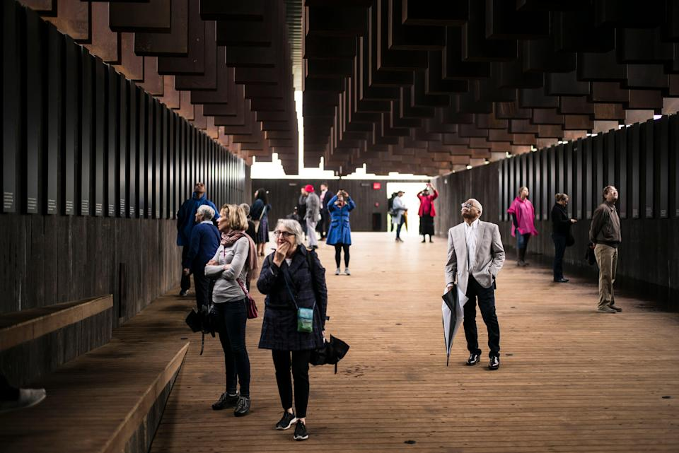 Alabama has been reckoning with its racist past with the National Memorial For Peace And Justice (pictured) and this review into the state's constitution.   (Getty Images)